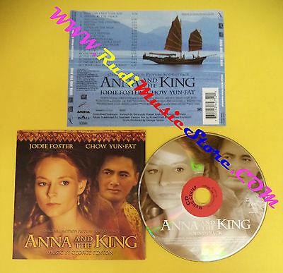 CD SOUNDTRACK George Fenton Anna And The King 73008-26075-2 no dvd vhs lp(OST4)*