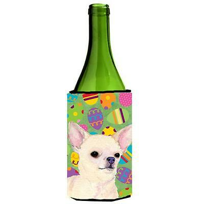 Carolines Treasures Chihuahua Easter Eggtravaganza Wine bottle sleeve Hugger