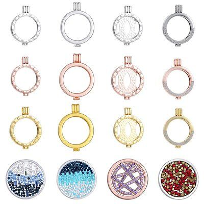 Fashion Silver/Gold Plated Locket Holder Fit For My Coin Necklace 33mm Coin Gift
