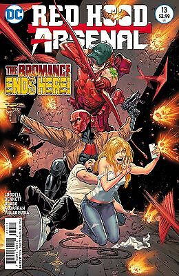 Red Hood and Arsenal # 13 1st Print N52 DC New 52 NM Unread