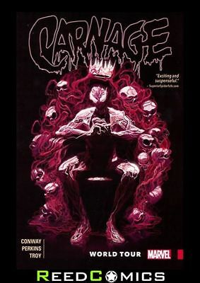 CARNAGE VOLUME 2 WORLD TOUR GRAPHIC NOVEL New Paperback Collects (2015) #6-11