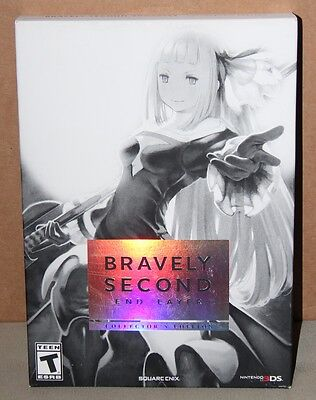 Bravely Second: End Layer -- Collector's Edition (Nintendo 3DS, 2016) Brand New