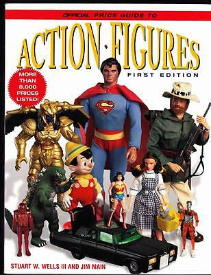 1997 ACTION FIGURES OFFICIAL PRICE GUIDE FIRST EDITION Sci-Fi & Fantasy toys