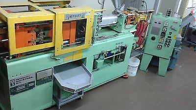 plastic injection molding machine, grinder and molds