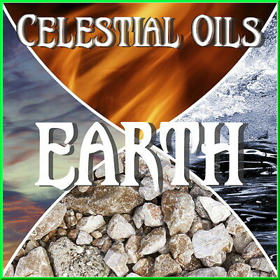 CELESTIAL 100% ESSENTIAL OIL BLEND - ELEMENT EARTH - 15ml - MONEY SUCCESS POWER