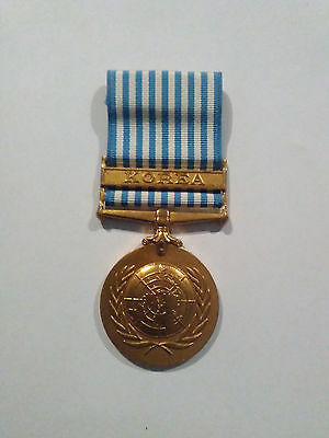 UN Korean War Medal In Excellent Original Condition