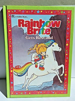 Rainbow Bright Gets Rescued Book 1984