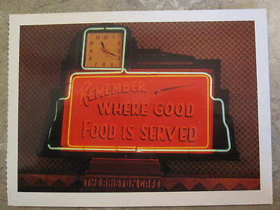Closeout!, Ariston Cafe in Illinois 1998 Route 66 Post Card