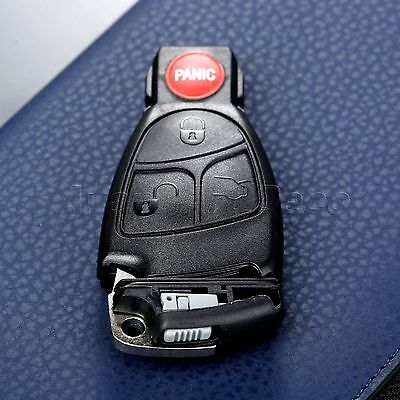 Car Remote Battery Clip Key Insert with Shell Case for Mercedes Benz Replacement