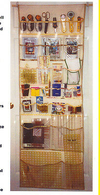 PATTERN - Hanging Organizer - fabulous way to keep your essentials PATTERN