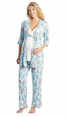Everly Grey  5-Piece During & After Maternity Nursing Susan Sleepwear Pajama Set