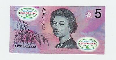 The Original Eumundi Market $5 note  F-579
