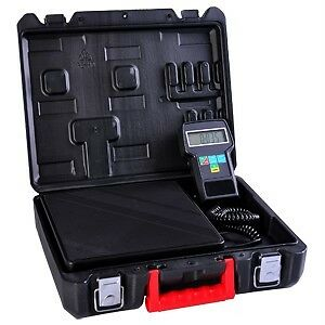 Digital Refrigerant Electronic Charging Scale 220 lbs for HVAC with case