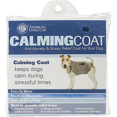 """""""Calming Coat Extra Small 13""""""""-18"""""""" Chest-Grey"""""""