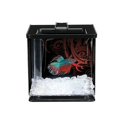 Acuario Kit Betta Ez Care 2.5 Litros Marina Betteras Pecera Peces Mascotas