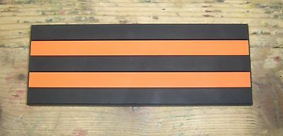 Russian St George Ribbon a PVC morale patch with contact tape (hook and loop)