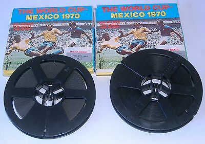 Two 8mm Films 1970 mexico World Cup. England V Germany, & Italy V Brazil