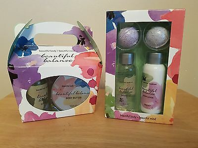 Beautiful Body Shower Gel, Lotion, Body Butter And Bath Bomb Xmas Gift Set