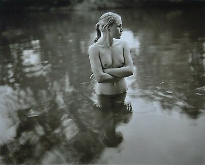 Jock Sturges Original XXL Photo Kunstdruck Art Print 73x67cm Nude Standing Water