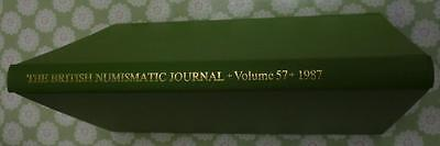 British Numismatic Journal 1987 21 plates 182pp articles Irish Scottish interest