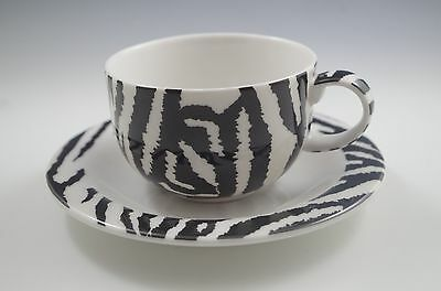 2000 Paul Cardew Grevy's Zebra Cup And Saucer Set, New