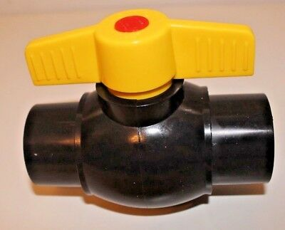 Kockney koi yamitsu 1.5inch solvent weld ball valve 1,2,3 or 4 lots great value