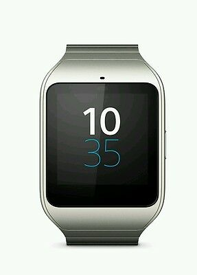 NEW SEALED! Sony SmartWatch 3 SWR50 Android NFC IP68 GPS 4 GB Luxury Metal Strap