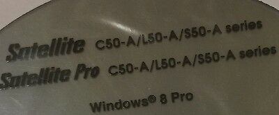 Toshiba Satellite C50-A/L50-A/S50-A Series & Satellite Pro New Windws 8 Pro