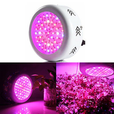 300W Full Spectrum LED Grow Light 72LEDs Lamp Panel for Plants Veg Flower Bloom