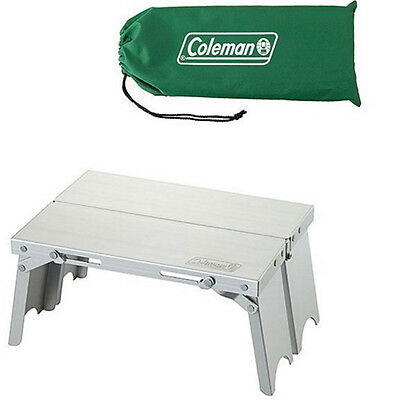 [Coleman] Trekking Compact Table Lightweight Aluminum Nic Size With Storage Case