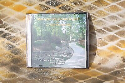 Victor Paul Wierwille: What Are You Going to Do CD