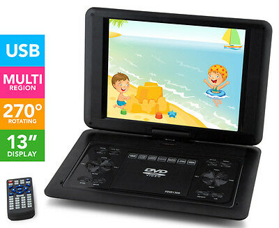 Portable 13-Inch DVD Player