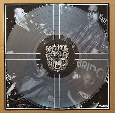 Booze & Glory - Always On The Wrong Side (Brand New Clear Vinyl Lp) - Hard Lp 19