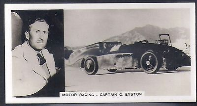Pattreiouex-Sporting Celebrities (F54)-#37- Motor Racing - Captain Eyston