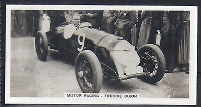 Pattreiouex-Sporting Celebrities (F54)-#43- Motor Racing - Freddie Dixon