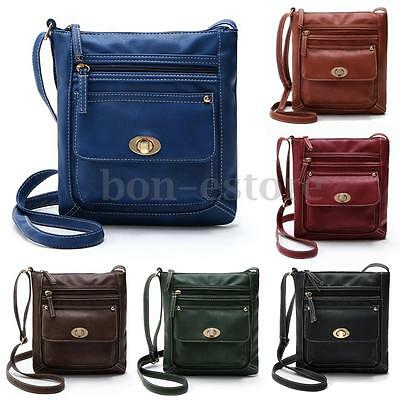 US Women Leather Handbag Purse Tote Satchel Messenger Crossbody Shoulder Bag New