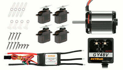 Dynam Detrum 450 RC Helicopter Brushless Upgrade Combo System