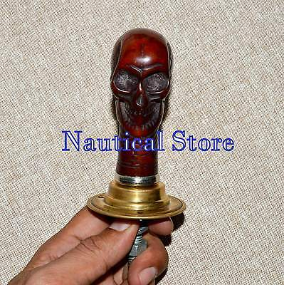 Vintage Antique Style Crafte Plastic Victorian Head Door Handle