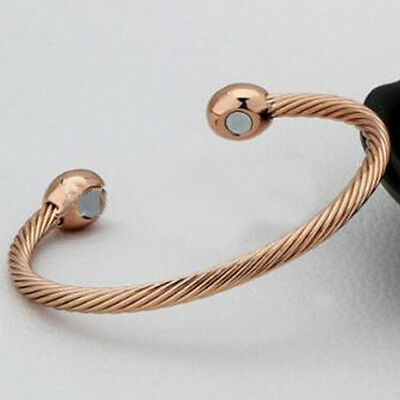 Healing Magnetic Therapy Bracelet Bangle Arthritis Pain Relief Twisted Lovely