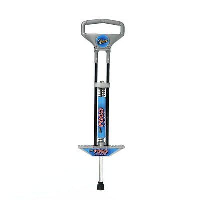 New Ozbozz Spring Powered Pogo Stick Boy Outdoor Activity Grey/Black (age 5-12)
