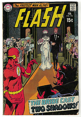 DC Comics THE FLASH Issue 194 The Bride Cast Two Shadows! VG/F