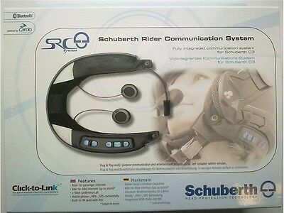 Schuberth C3 Helm Headset SRC Kommunikation System Radio Handy Bluetooth NEU