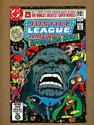 Justice League of America 184 (Sharp!) JSA/New Gods/Darkseid/Mr. Miracle c#10990