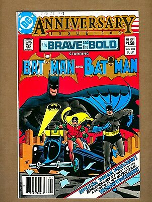 Brave and the Bold 200 (Very-Sharp!) 1st app. Batman & The Outsiders (c#10966)