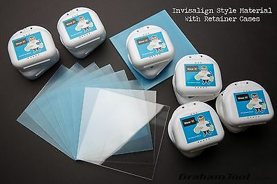 Invisalign Retainer Plastic Sheet And Retainer Cases, Orthodontic, Dental