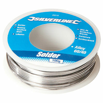100g Reel 1mm 60/40 Tin Lead Solder Wire with Flux. Sn/Pb AS15 Electrician NEW