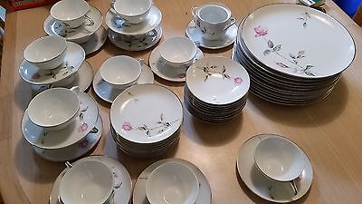 Style House Fine China Dawn Rose *58 PIECES* Cirr. 1960