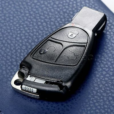 for 1993-2009 Mercedes Benz ML350 Remote Smart Insert Key Fob Case 3Button Shell
