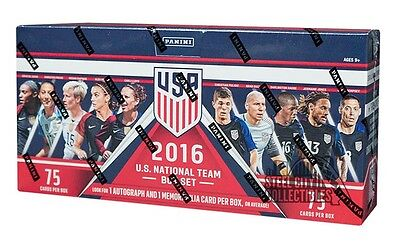 2016 Panini USA Soccer Box Set