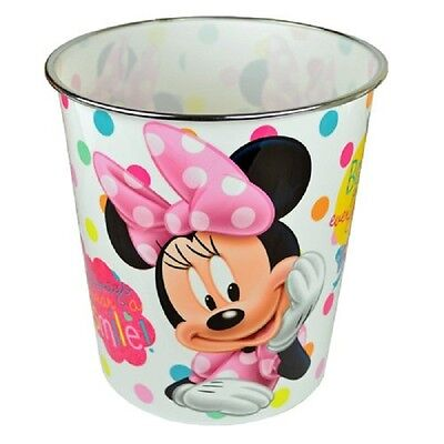 Zbinmi Wbastd Disney Minnie Mouse Childrens Waste Paper Bin